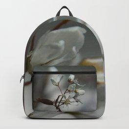 The fragile start of spring Backpack
