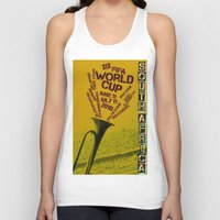 south africa Tank Tops featuring World Cup: South Africa 2010 by James Campbell Taylor