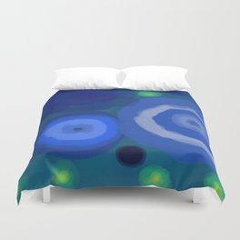 Rocks or Water - Fireflies 3 Duvet Cover