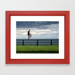 Balanced Variation Framed Art Print