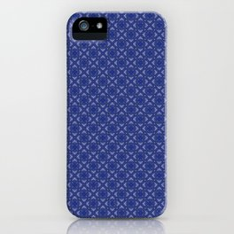 Kyell Blue iPhone Case