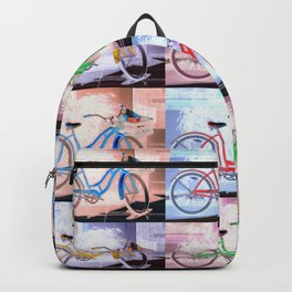 Bicycle Pattern Key West Backpack
