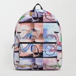 Bicycle Pattern Key West Backpack
