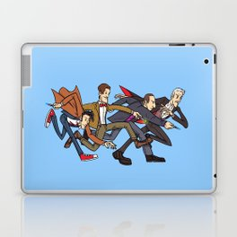 The Four Doctors (Doctor Who) Laptop & iPad Skin