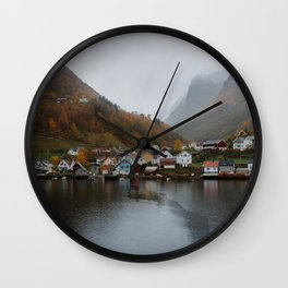 Mama Married A Fisherman Wall Clock
