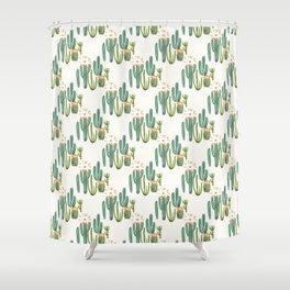 Cactus Desert Shower Curtain