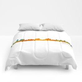 Jerusalem City Skyline Hq v1 Comforters