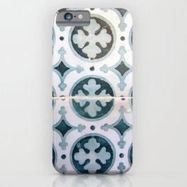 Portuguese tile 6 iPhone Case