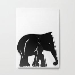 "P16040 ""elephele"" Metal Print"