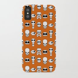 All skulls, all the time. iPhone Case