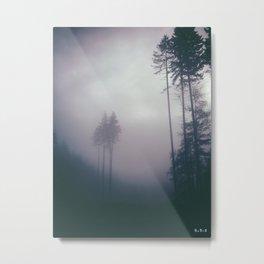 Morning Mists Metal Print