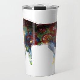 Painted Horse Travel Mug