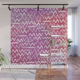 Squiggly Wall Mural
