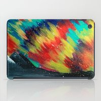 northern lights iPad Cases featuring Northern Lights by Chantalle Kryl Art