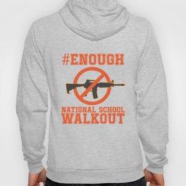 Gun Control, #Enough - Gun Reform Anti Gun Shirt Hoody