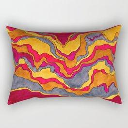 LIQUEFYING LAYERS Rectangular Pillow