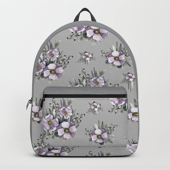 FLOWERS WATERCOLOR 22 Backpack