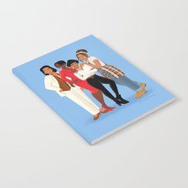 Living Single / Khadijah, Max, Regine & Synclaire Notebook