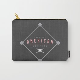 Baseball - The Great American Pastime Carry-All Pouch