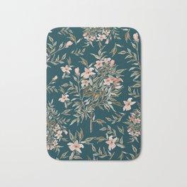 Small Floral Branch Bath Mat