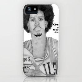 Allen Iverson Rookie Year Portrait iPhone Case