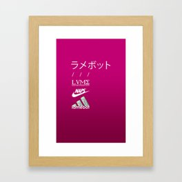 :( SAD ): Framed Art Print