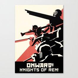 First Order Poster ( Kylo Ren) Canvas Print