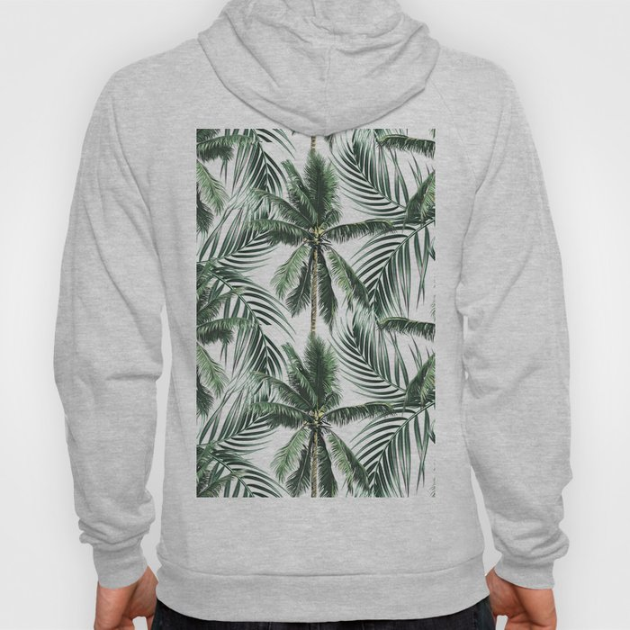South Pacific palms Hoody
