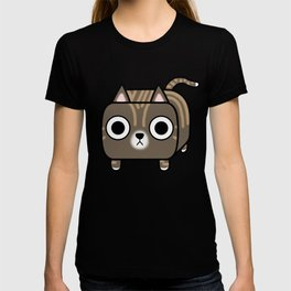 Cat Loaf - Brown Tabby Kitty T-shirt