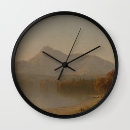 Sanford Robinson Gifford - Mountain Landscape Wall Clock