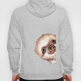 Sneaky Baby Sloth Hoody
