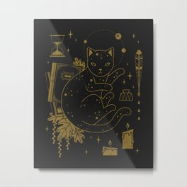 Magical Assistant Metal Print