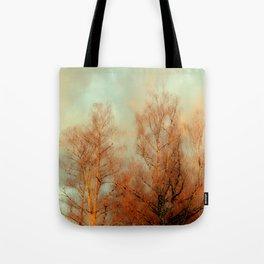 TREES AT SUNSET 3 Tote Bag