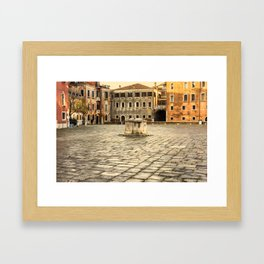 Venetian Ghetto Framed Art Print