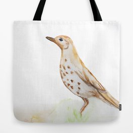 Study of a Bird Tote Bag