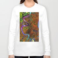 new orleans Long Sleeve T-shirts featuring new orleans by donphil