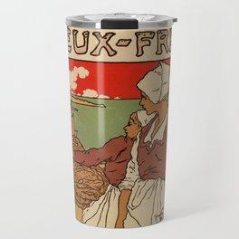 Vintage French sea fish advertising Travel Mug