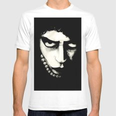 THE ROCKY HORROR PICTURE SHOW - DETAIL II  White Mens Fitted Tee LARGE