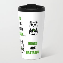 B is For Bear Travel Mug