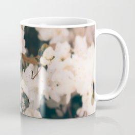 White Mini azaleas #floral Coffee Mug