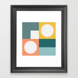 Modern Geometric 53 Framed Art Print