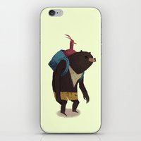banjo iPhone & iPod Skins featuring banjo by Louis Roskosch