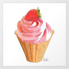 My Sweet Cupcake  Art Print