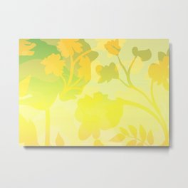 Sassy Sedge - warm colors Metal Print