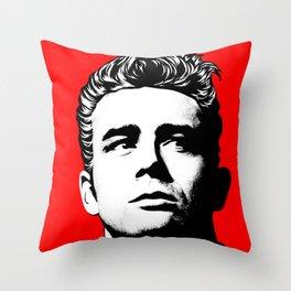 JamesDean01-1 Throw Pillow