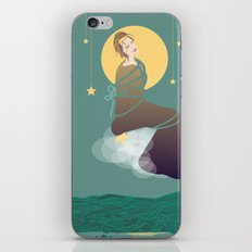 love you to the moon iPhone Skin