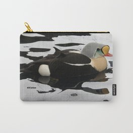 King Eider at the Seward Sealife Center Carry-All Pouch