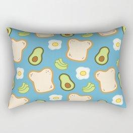 Avocado Toast Rectangular Pillow