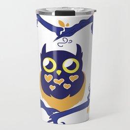 Owl 1 Travel Mug