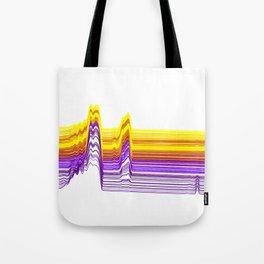 Fe Lines in Neon Colors Tote Bag